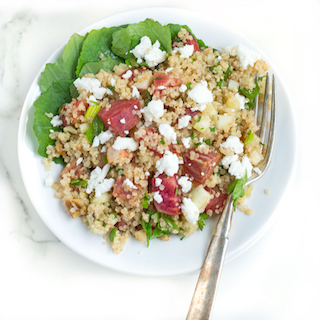 Roasted Beet and Quinoa Salad
