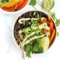Veggie Burrito Bowl with Black Beans