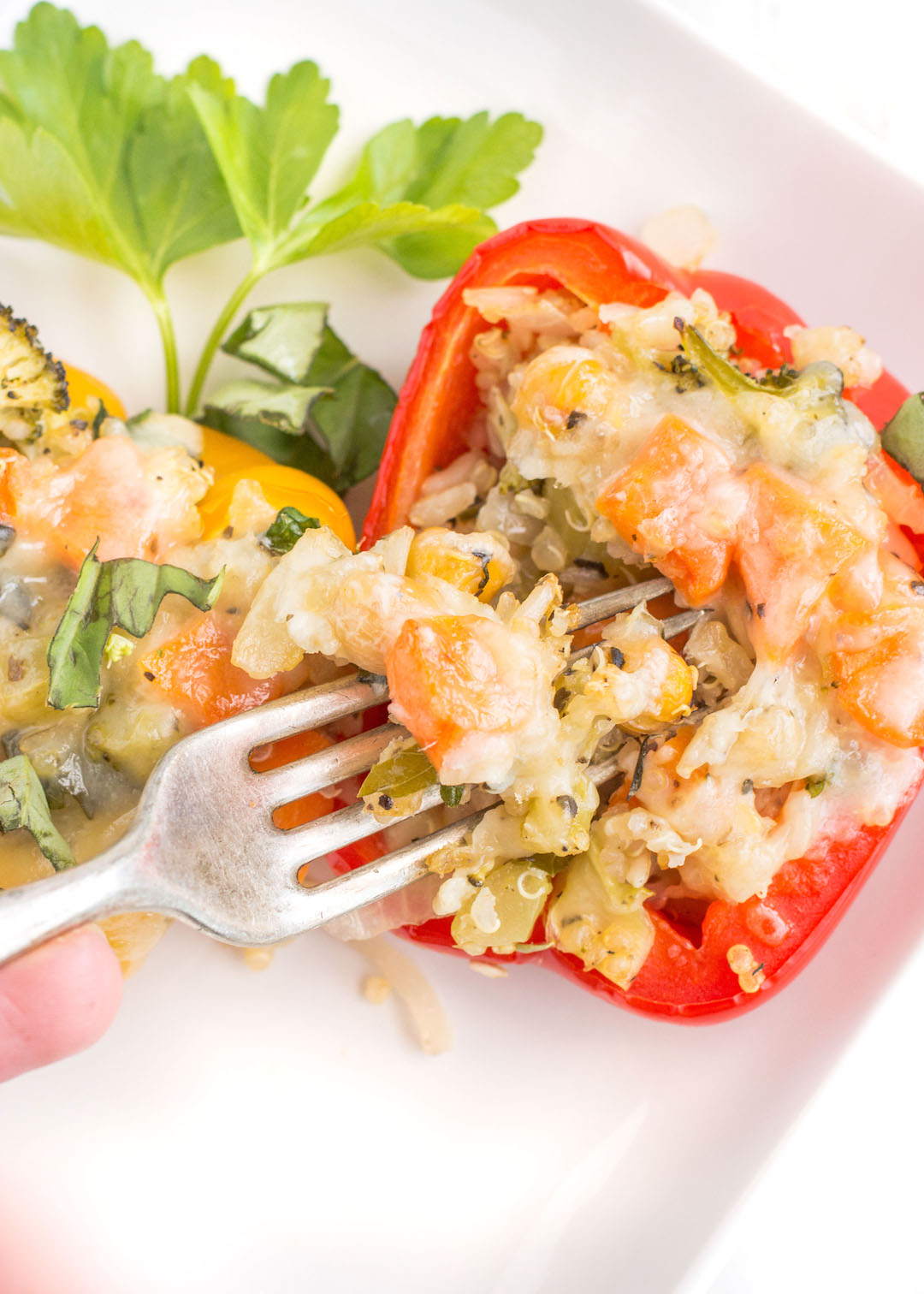 Vegetarian Quinoa Stuffed Peppers