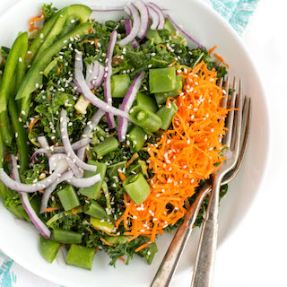 Chopped Veggie Kale Salad