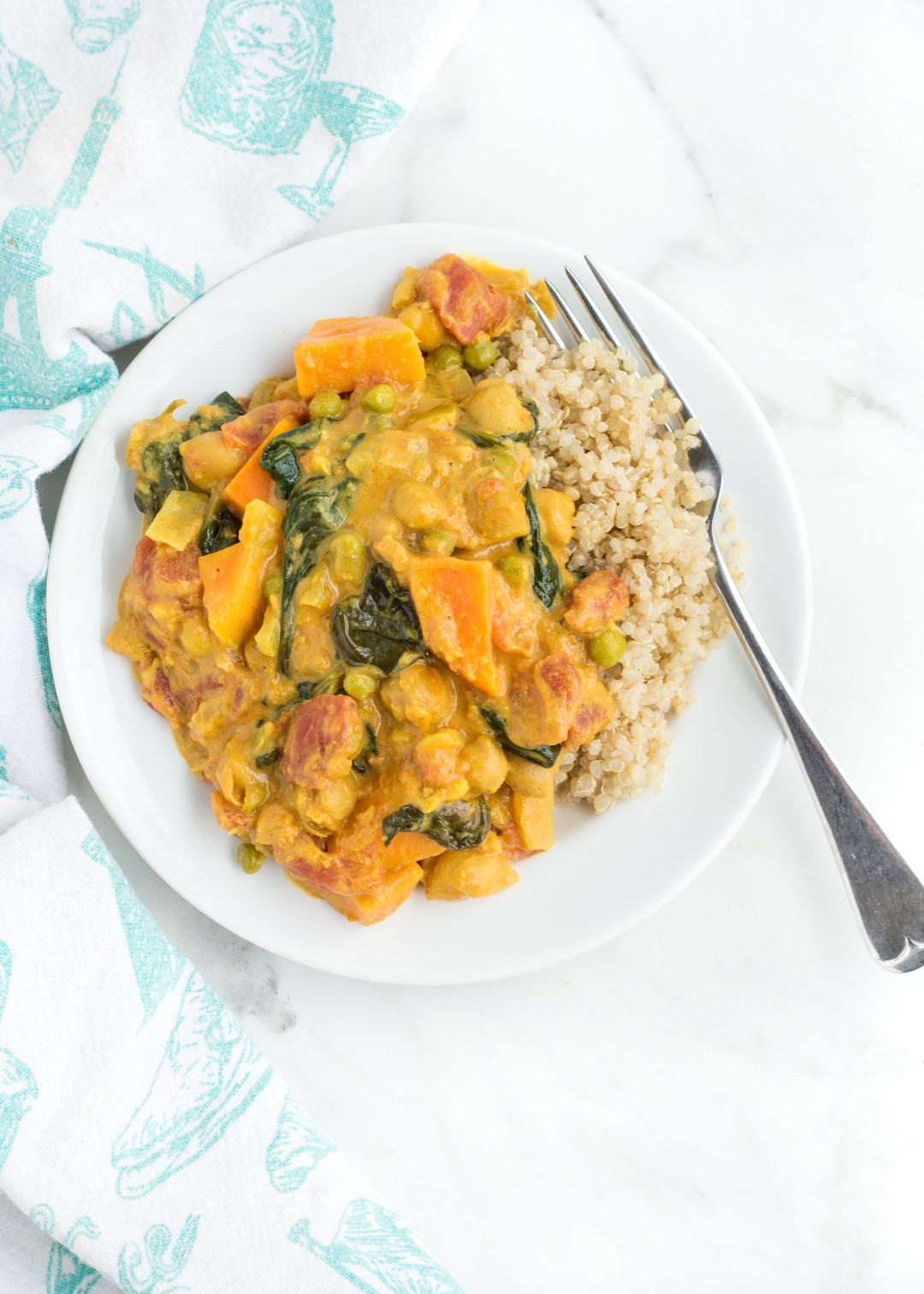 March 2017 Sweet Potato Curry