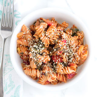 Creamy Tomato and Greens Pasta