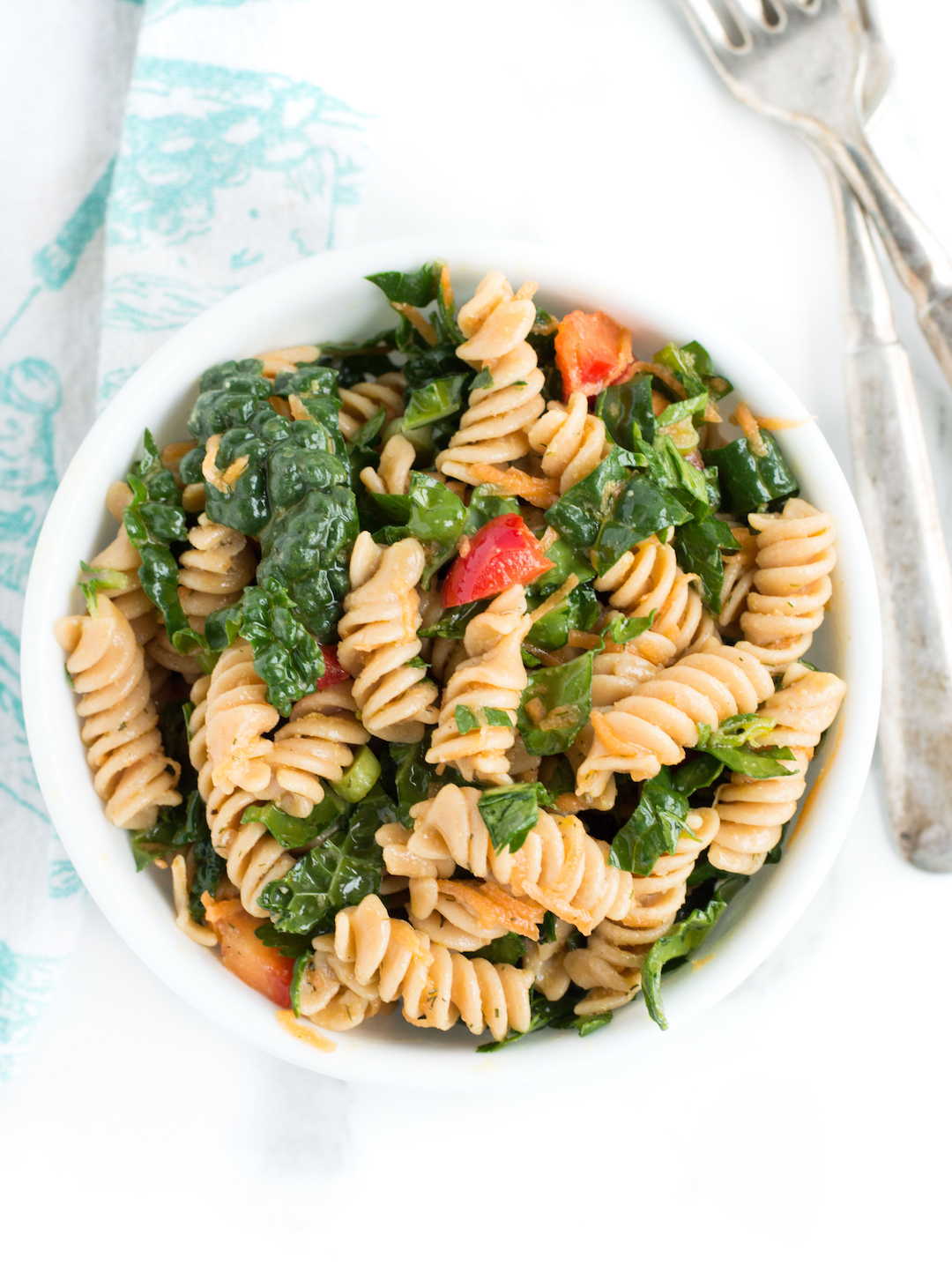 Lemony Vegetable Pasta Salad #ad #sponsored #bentiliapasta