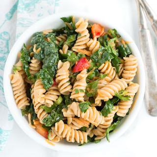 Lemony Vegetable Pasta Salad