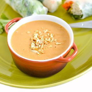 The Best Ever Thai Peanut Dipping Sauce