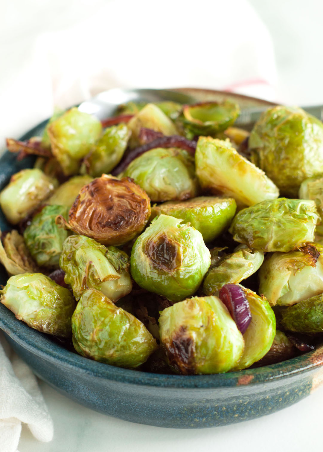 Honey Balsamic Brussels Sprouts Nourished