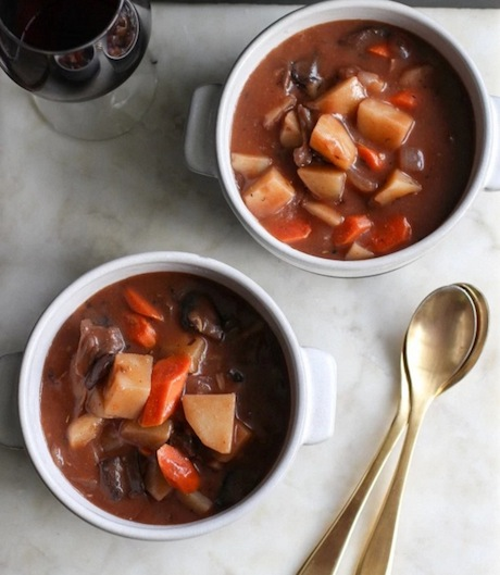 Potato and Mushroom Stew | 16 Awesome Soup Recipe Ideas | The BEST soups, stews and chilis from around the internet!
