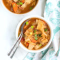 Easy Veggie Cabbage Soup feature image