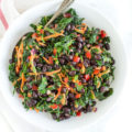 Easy Black Bean and Kale Salad