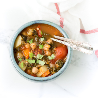 Easy to Make Chickpea Vegetable Soup-3