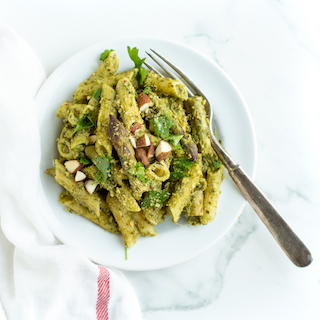 Spring Pesto Pasta with Asparagus