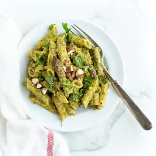 Spring Pesto Pasta with Asparagus